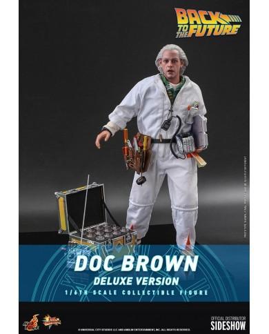 Movie Masterpiece Ritorno al futuro: Doc Brown (normal & deluxe ver)