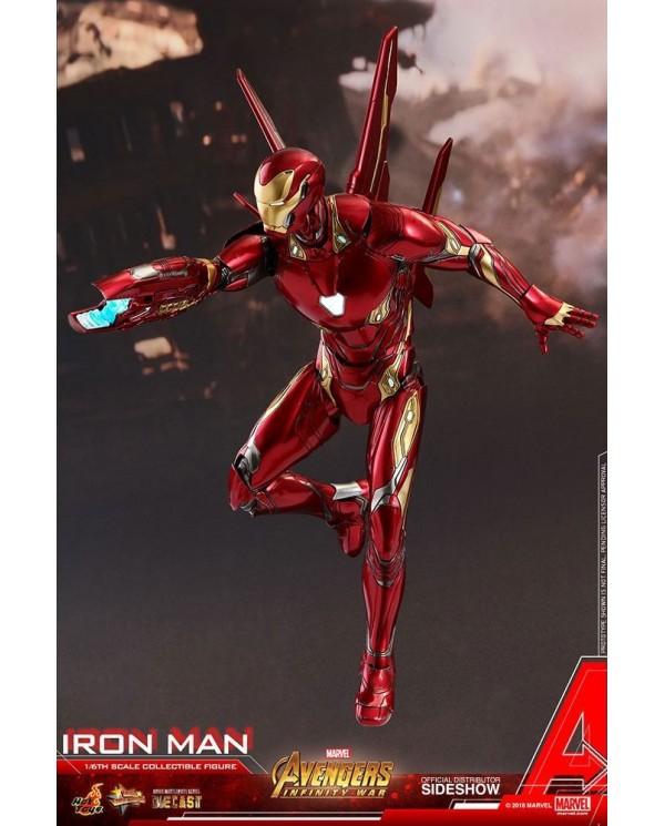 AVENGERS INFINITY WAR Movie Masterpiece Iron Man Diecast Mark 50