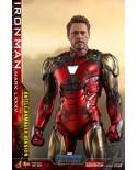 AVENGERS ENDGAME Movie Masterpiece Iron Man Mark LXXXV BATTLE DAMAGED Diecast