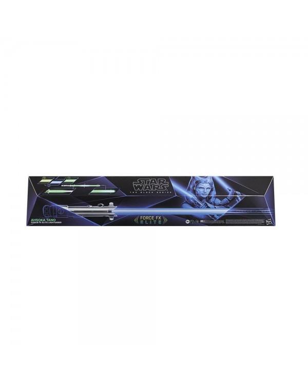 HASBRO - The Mandalorian Ahsoka Tano Lightsaber Force FX The Black Series